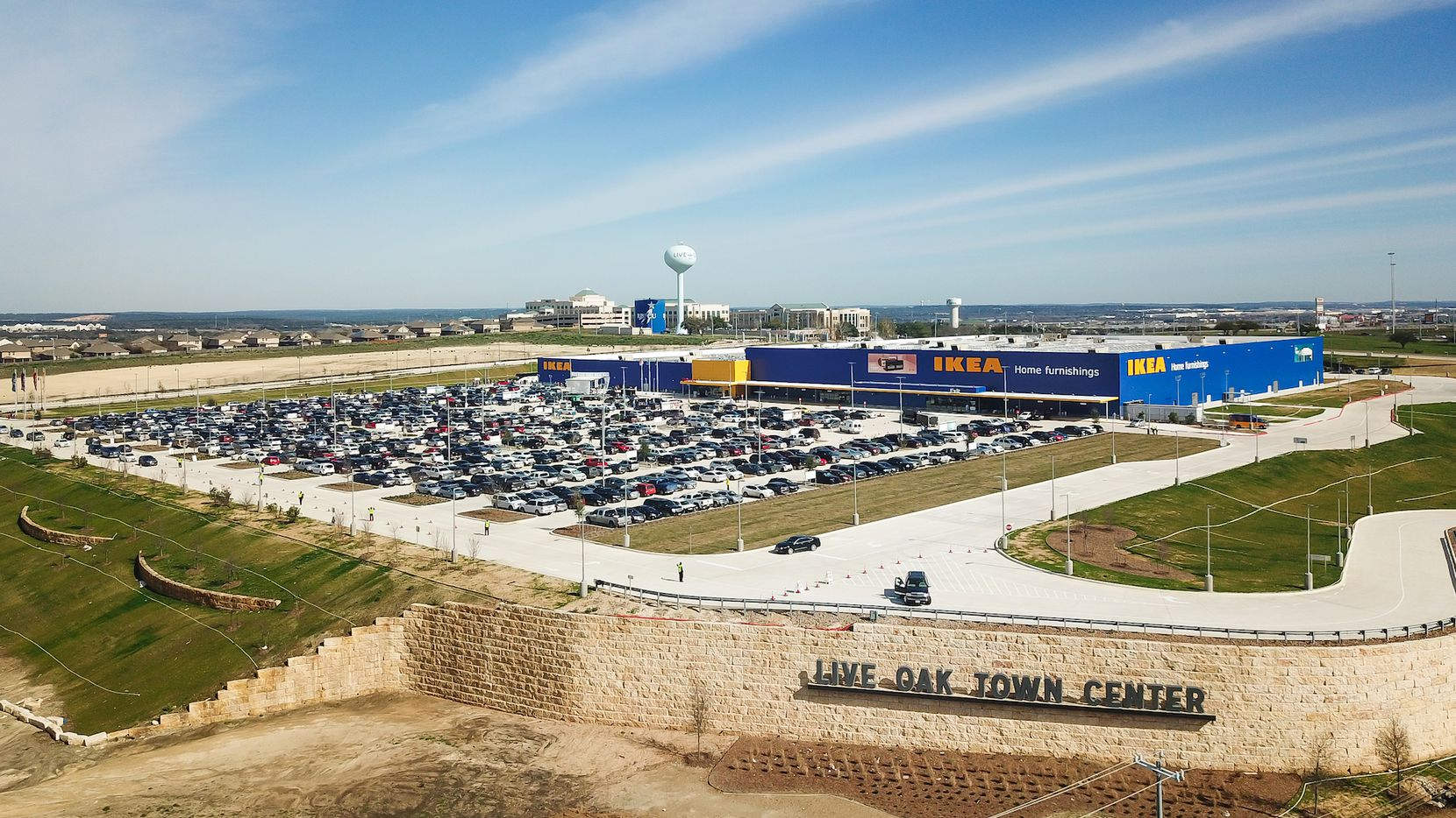 One of Weitzman's newest Texas projects is the almost 1 million-square-foot Live Oak Town Center in San Antonio, which is anchored by Ikea