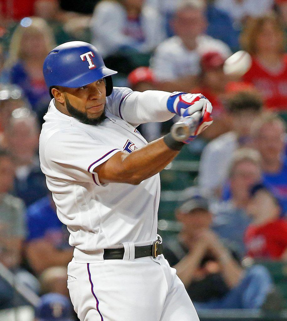 Texas Rangers shortstop Elvis Andrus likes In-N-Out.