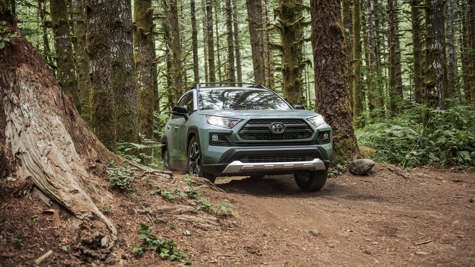 Adventure brings a rugged personality to the Toyota lineup.