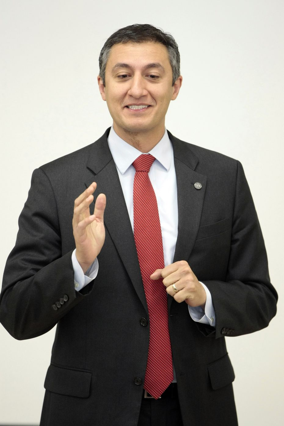 'Let them see firsthand how we're spending their money,' Rep. Giovanni Capriglione, R-Southlake, says of members of the public. He'll again author a House bill to limit withholding of contracting documents. (File 2014/The Fort Worth Star-Telegram)