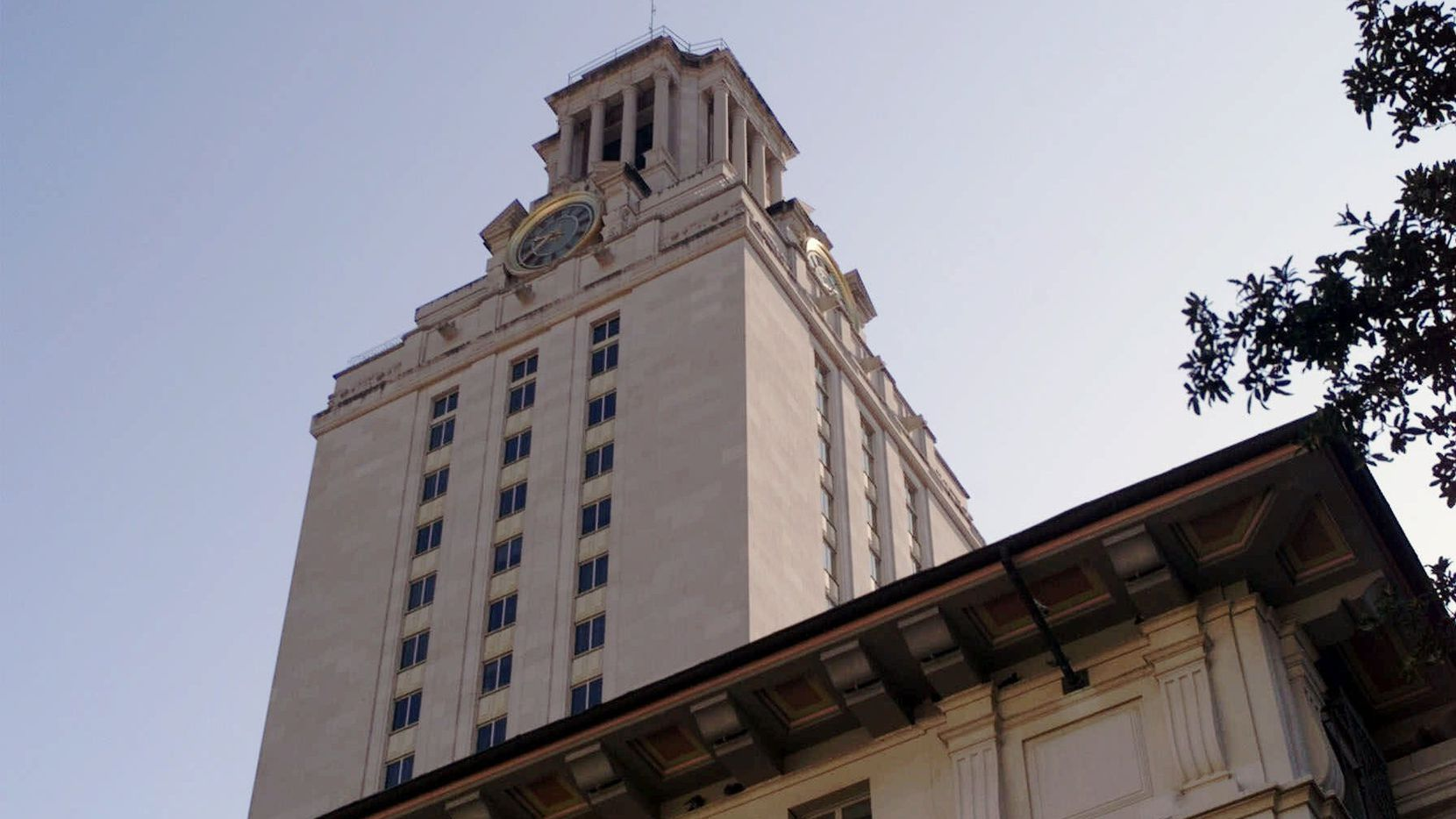 The Main Bell Tower at the University of Texas.