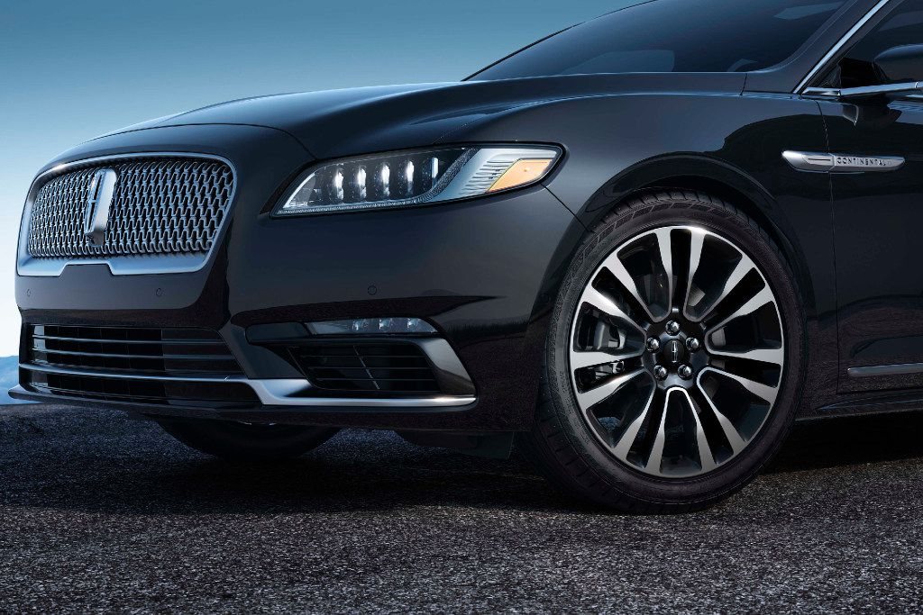 The 2017 Lincoln Continental. (Ford)