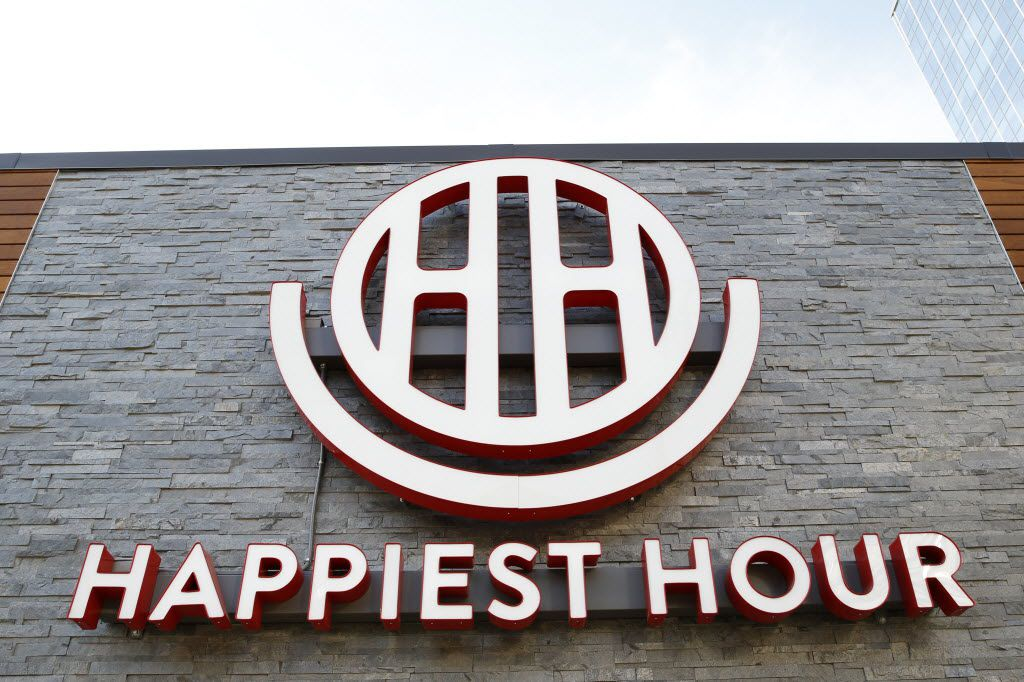 Exterior of the Happiest Hour in Dallas on Thursday, October 8, 2015.