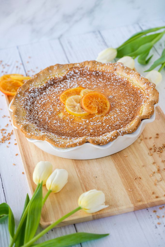 Easter Grain Pie.  Styling by Kristen Massad. (Smiley N. Pool/The Dallas Morning News)