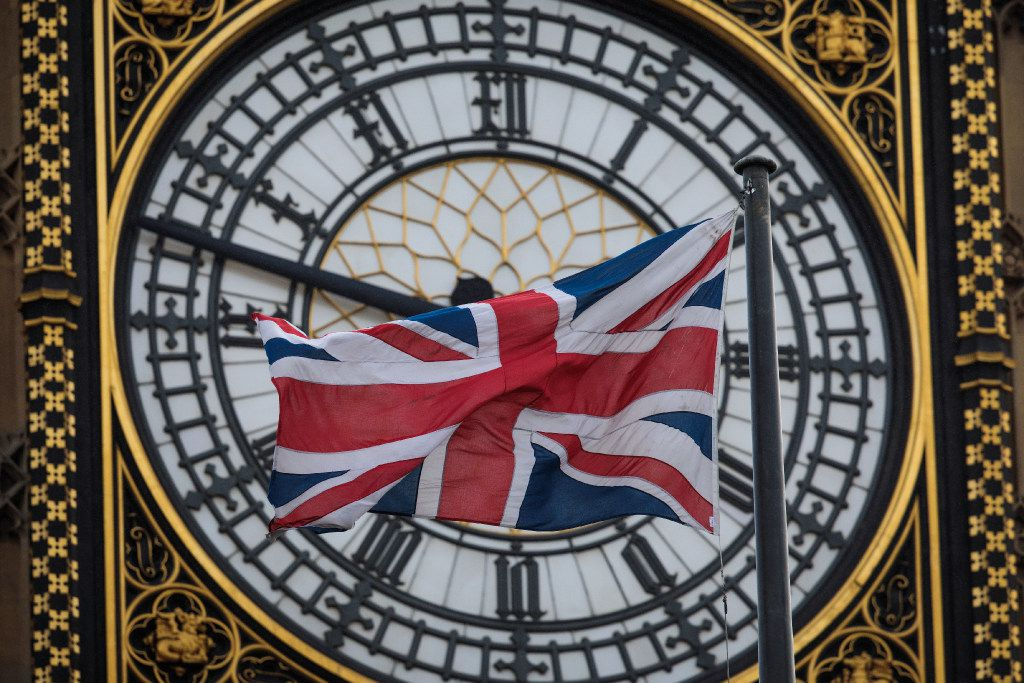 LONDON, ENGLAND - MARCH 01: The Union Jack flag flies from a flagpole on Portcullis House in front of the Elizabeth Tower, commonly known as Big Ben on March 1, 2017 in London, England. Peers in the House of Lords vote on an amendment to the Brexit bill today which would protect the rights of EU citizens in the UK. (Photo by Jack Taylor/Getty Images)