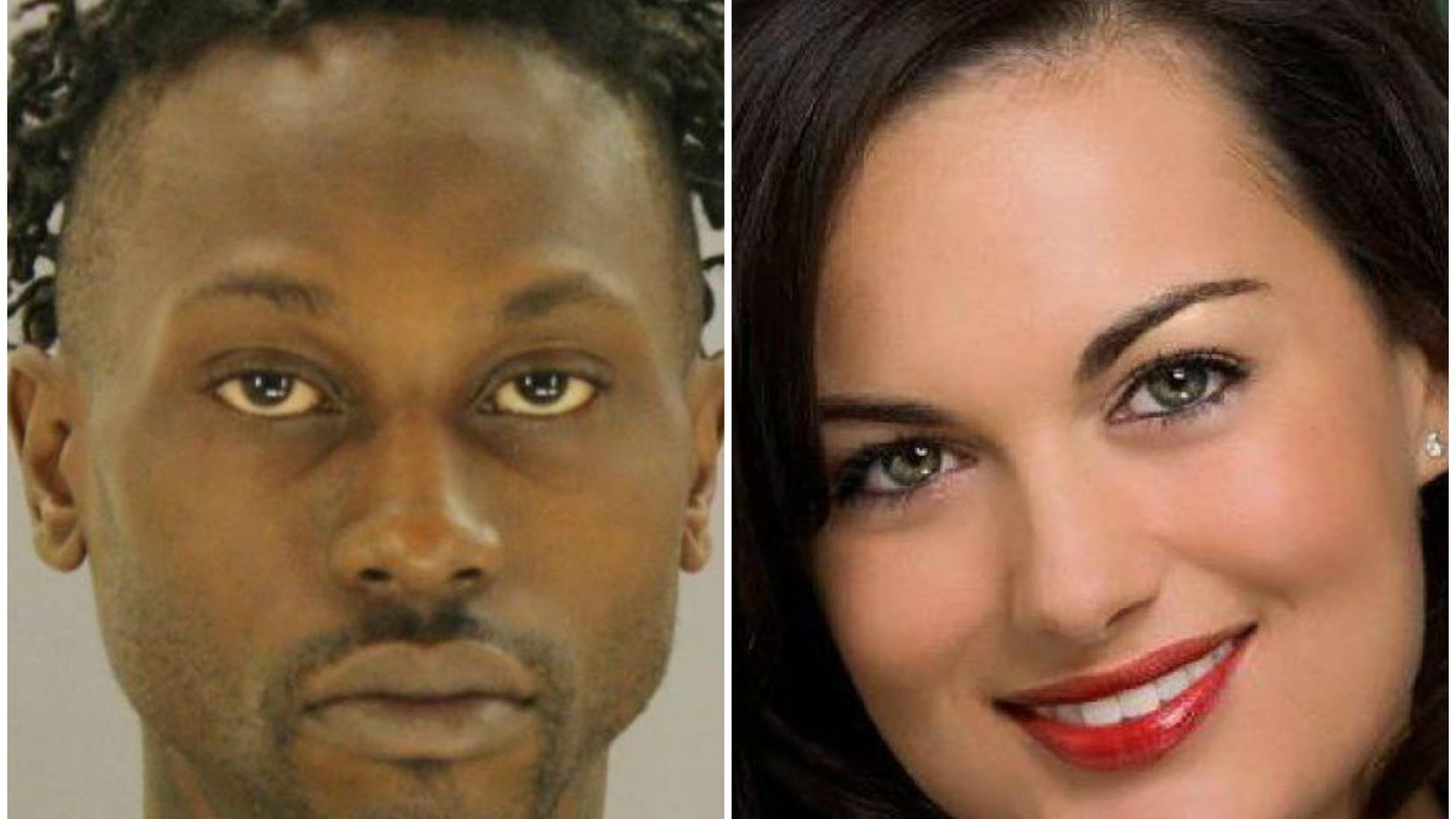 Shooting suspect Kristopher Love and dentist Kendra Hatcher, who was slain Sept. 2, 2015.