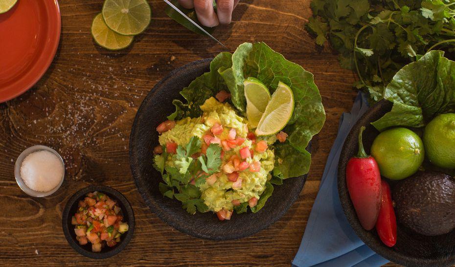Lupe Tortilla is a Tex-Mex restaurant that serves guacamole, tortilla soup, enchiladas, fajitas and more.