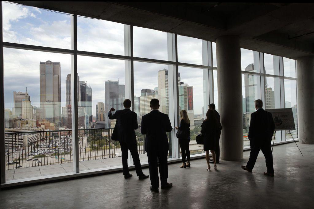 The Epic, un edificio en construcción en el este del centro de Dallas, sería la nueva sede de Uber.