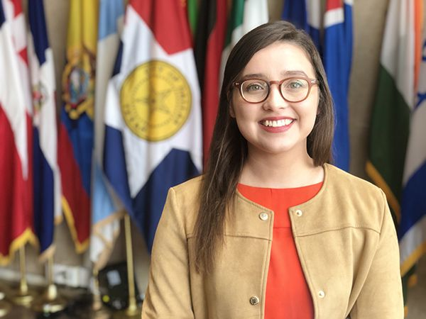 Abigaíl Flores, estudiante de UT Dallas, participó en el programa en 2016. CRISHTBEL MORA/ESPECIAL PARA AL DÍA