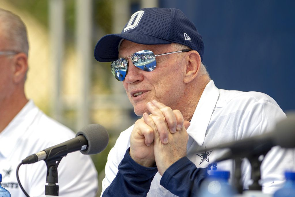 El dueño de los Cowboys de Dallas, Jerry Jones (AP Foto/Gus Ruelas)