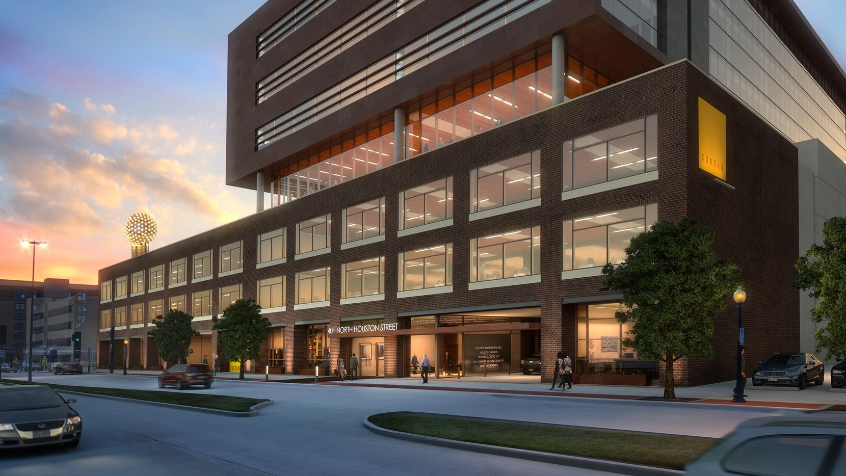 The new Luminary office building on Houston Street hopes to lure more tech and creative workers to the West End when it opens early next year.