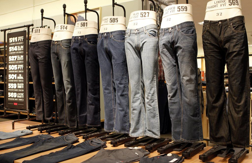 New jeans hit retail shelves in August and September so wait a month or two before you buy.