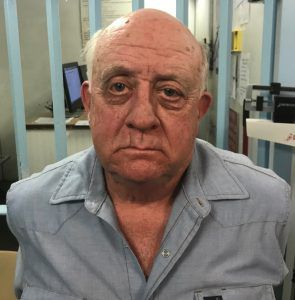 Howard Lee Hinkle, 67, was arrested and charged with first-degree felony theft.