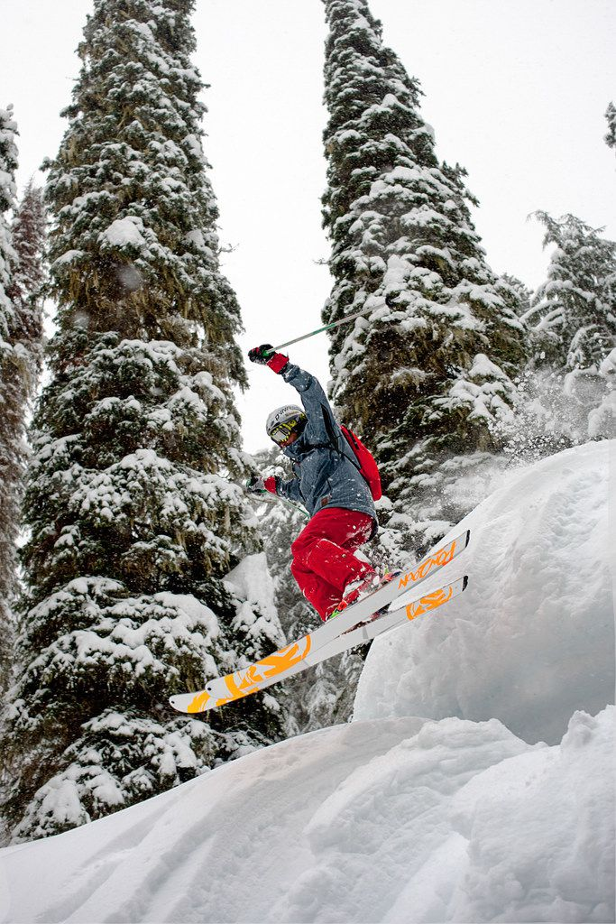 Set in the heart of British Columbia's wilderness, CMH Galena is renowned for its steep and deep tree skiing terrain.