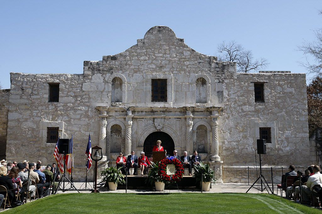 The Alamo Mission Chapter of the Daughters of the Republic of Texas celebrates Texas Independence Day on March 2.