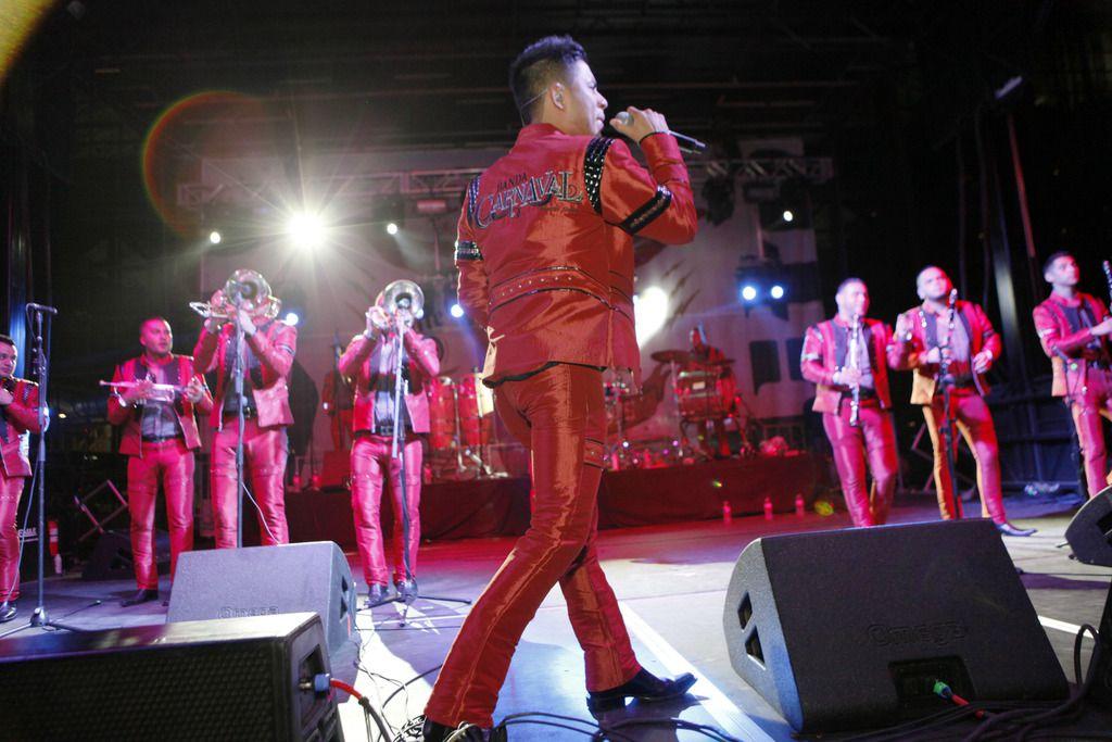 Banda Carnaval se presentará en la Feria Estatal de Texas (BEN TORRES)