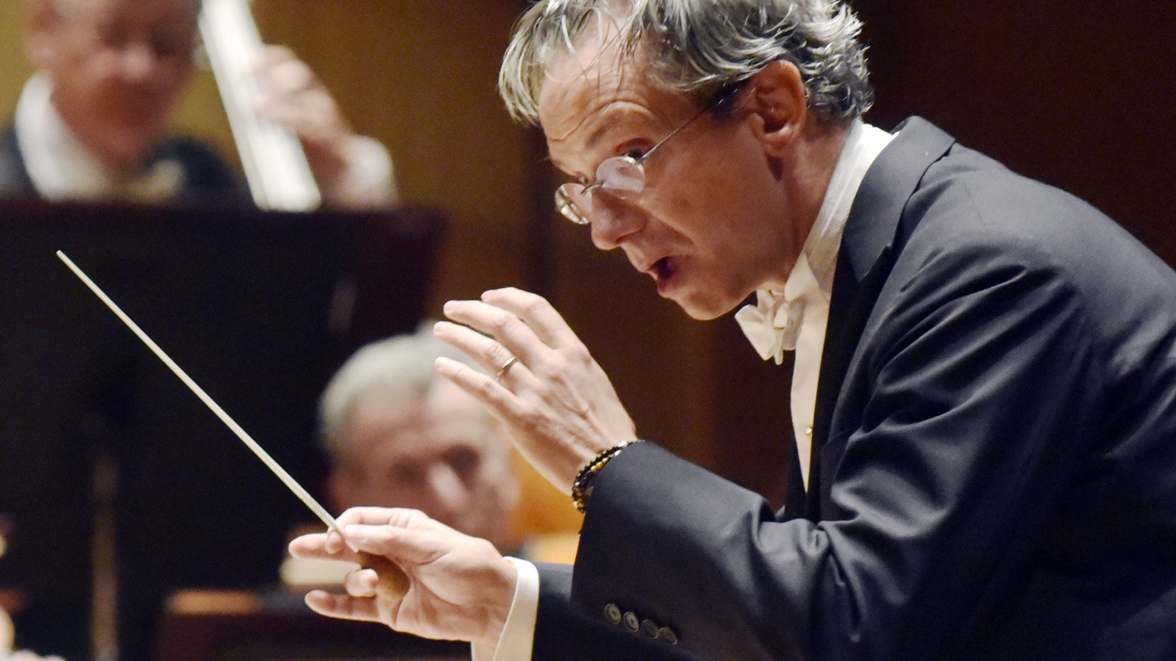 The Dallas Symphony Orchestra with conductor Fabio Luisi perform Beethoven Concerto No. 4 in G major for piano and orchestra, Op. 58, at the Morton H. Meyerson Symphony Center in Dallas, March 8, 2018. Ben Torres/Special Contributor