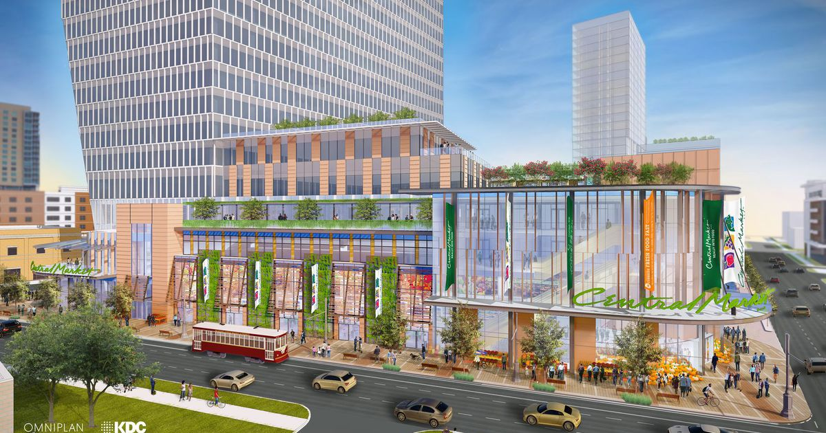 Uptown Dallas Central Market store project is getting closer to start