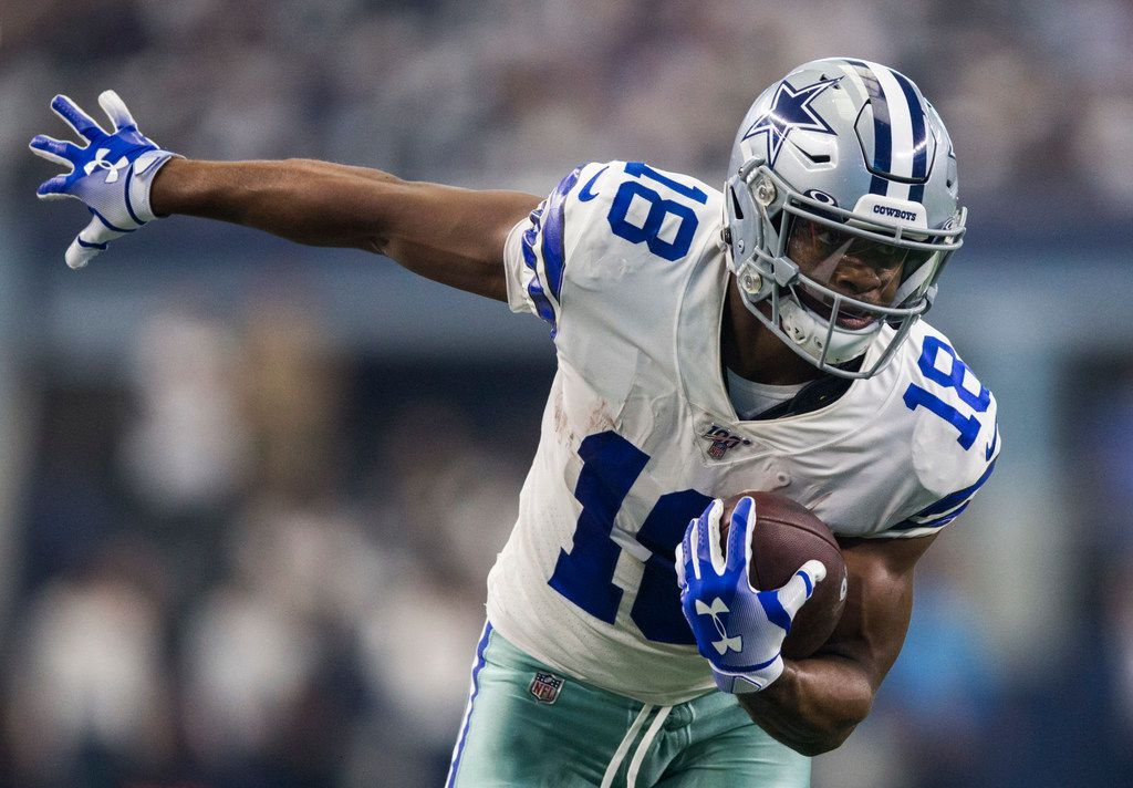 Dallas Cowboys wide receiver Randall Cobb (18) runs the ball during an NFL game between the New York Giants and Dallas Cowboys on Sunday, September 8, 2019 at AT&T Stadium in Arlington. (Ashley Landis/The Dallas Morning News)