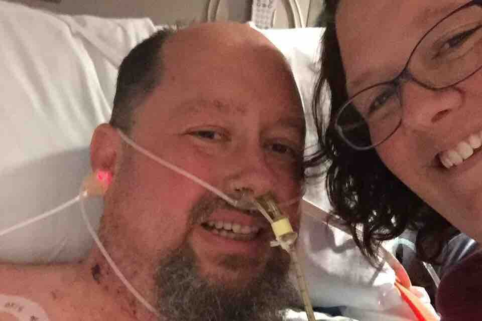 Brian Herndon faces an intensive rehab after losing nine fingers and both feet to circulation problems that cropped up because of the flu.