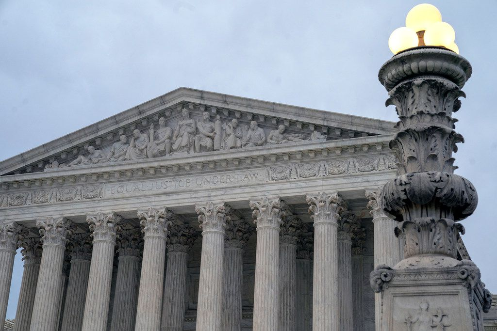 The Supreme Court is allowing the Trump administration to go ahead with its plan to restrict military service by transgender men and women while court challenges continue. The high court on Tuesday reversed lower-court orders preventing the Pentagon from implementing its plans.