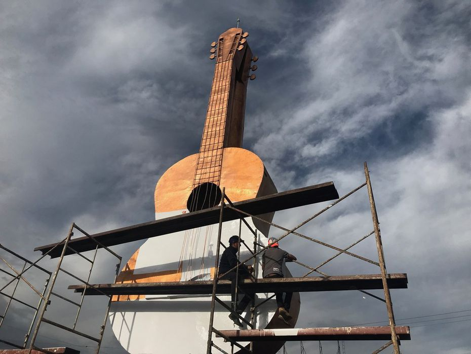 Locals in Paracho, Michoacan, are hoping the movie Coco wins an Oscar on Sunday to help them grow their economy and win recognition for the town's guitar makers.