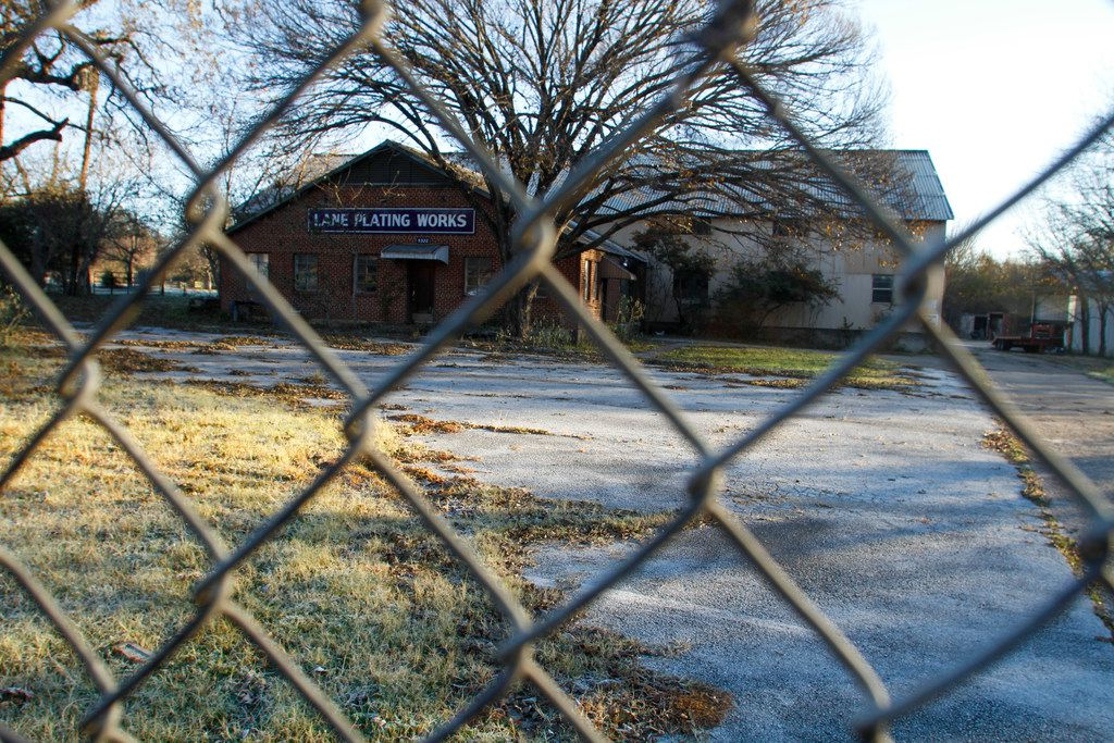 Lane Plating Works is locked, its owner in bankruptcy and its land contaminated.