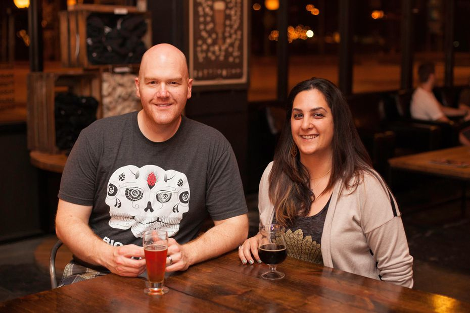Chad and Nellie Montgomery founded Big Texas Beer Fest in 2012.