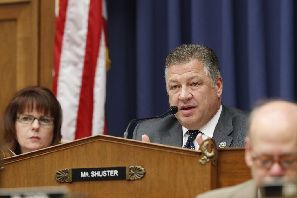 House Transportation Committee Chairman Bill Shuster, R-Pa. is among the biggest boosters of privatizing the nation's air traffic control system.