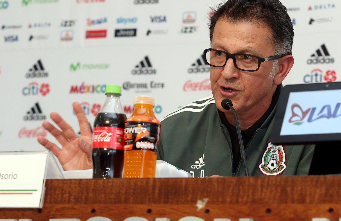 Juan Carlos Osorio se va del Tri y deja carta a la afición. AGENCIA REFORMA