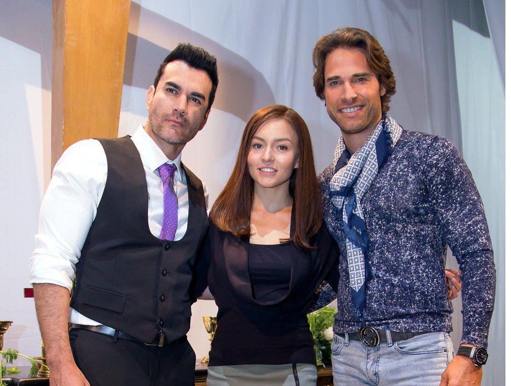 """David Zepeda, Sebastián Rulli y Angelique Boyer son los protagonistas de """"Frente al Mismo Rostro"""", remake de """"Lazos de Amor"""", estelarizada por Lucero en 1995./AGENCIA REFORMA"""