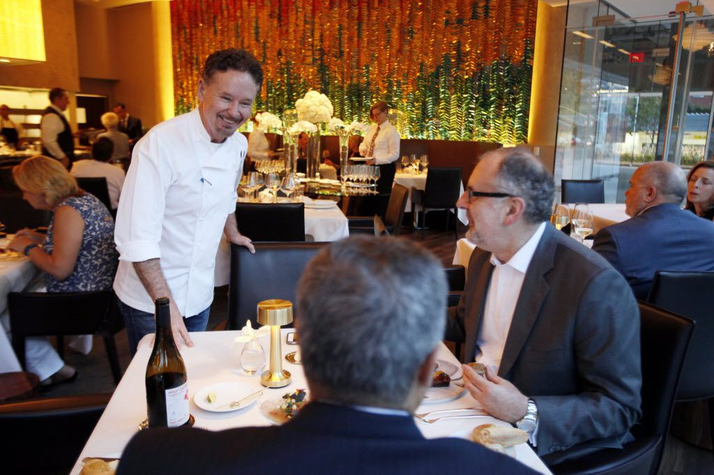 """Chef-owner Stephen Pyles, left, says his Flora Street Cafe will go through some changes next year to attract a more casual dinner crowd. """"I think I misjudged,"""" he says, """"thinking that Dallas was actually ready for this kind of restaurant, in terms that it would be frequented enough."""""""
