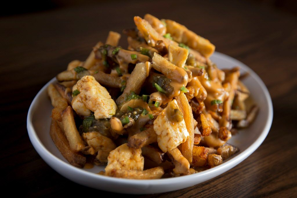 Queso Poutine order at The Royale Magnificent Burgers Thursday, February 18, 2016 in Plano, Texas. (G.J. McCarthy/The Dallas Morning News)