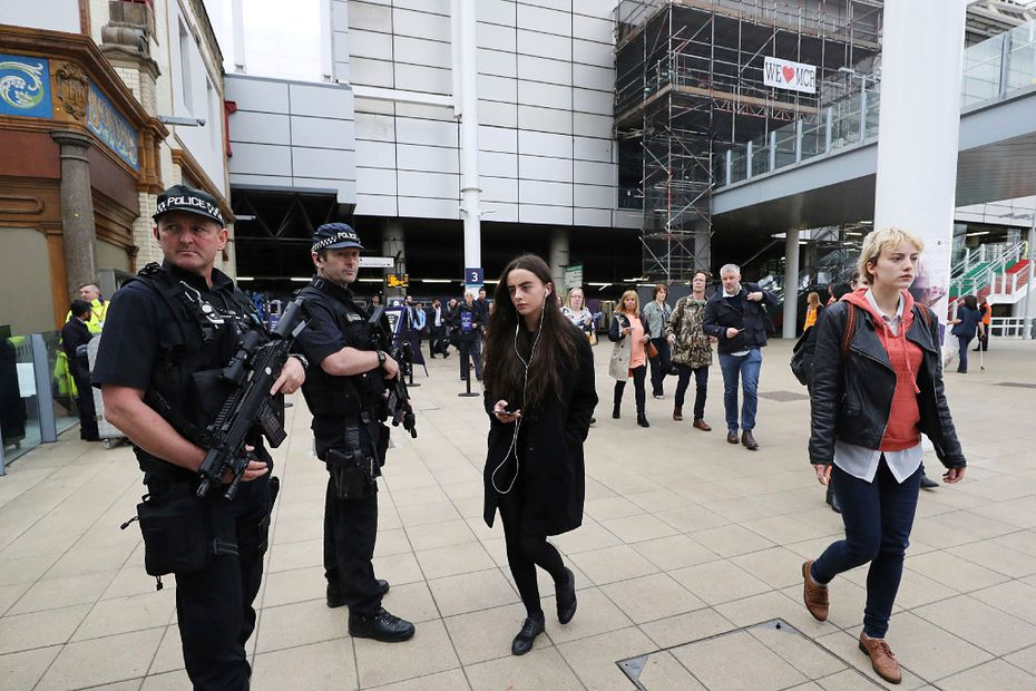 A suicide bombing outside the arena at the end of an Ariana Grande concert last week in Manchester, England, killed 22 people.