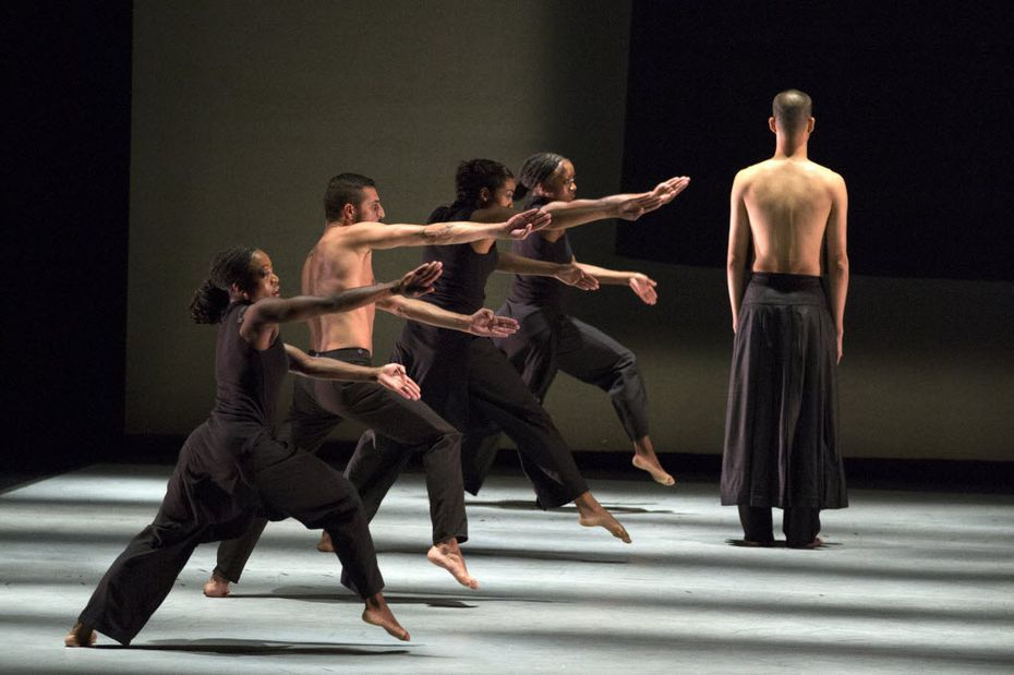 TITAS presented Akram Khan Company's Kaash at Dallas City Performance Hall in 2015.
