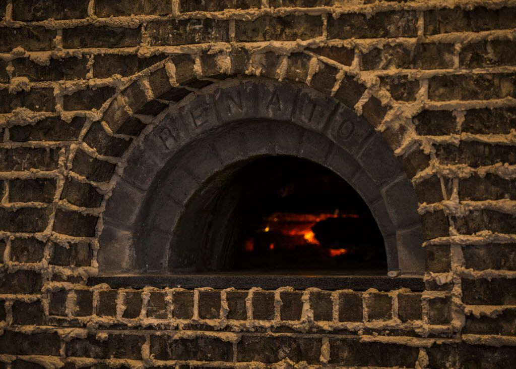 A wood burning oven at Bankhead Brewing Co. on Friday, August 19, 2016 on Main St. in Rowlett.