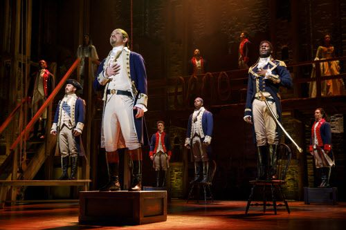 'Hamilton, se presentará entre abril y mayo en Music Hall de Fair Park de Dallas.