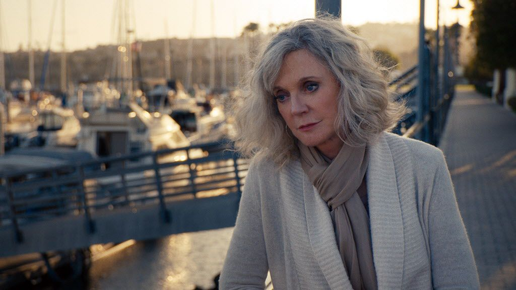"""This photo provided by Bleecker Street shows, Blythe Danner, as Carol, in a scene from the film,  """"I'll See You In My Dreams."""" The movie releases in U.S. theaters on May 15, 2015."""