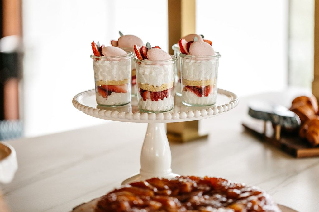 These strawberry parfaits are part of Bullion's Mother's Day brunch menu being offered May 12, 2019.