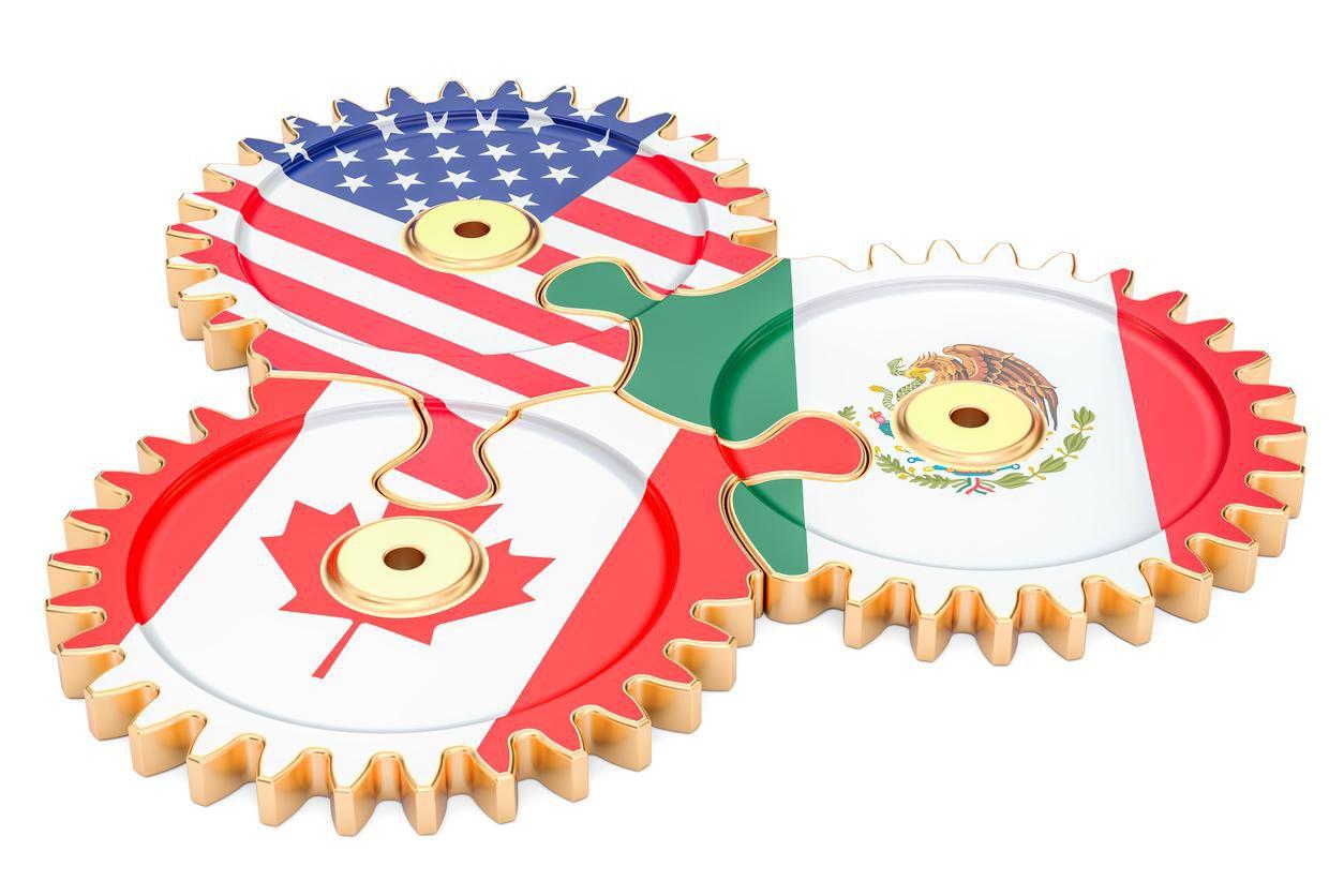 Canadá, Estados Unidos y México son los socios del Tratado de Libre Comercio de Norteamerica. (GETTY IMAGES/AlexLMX)