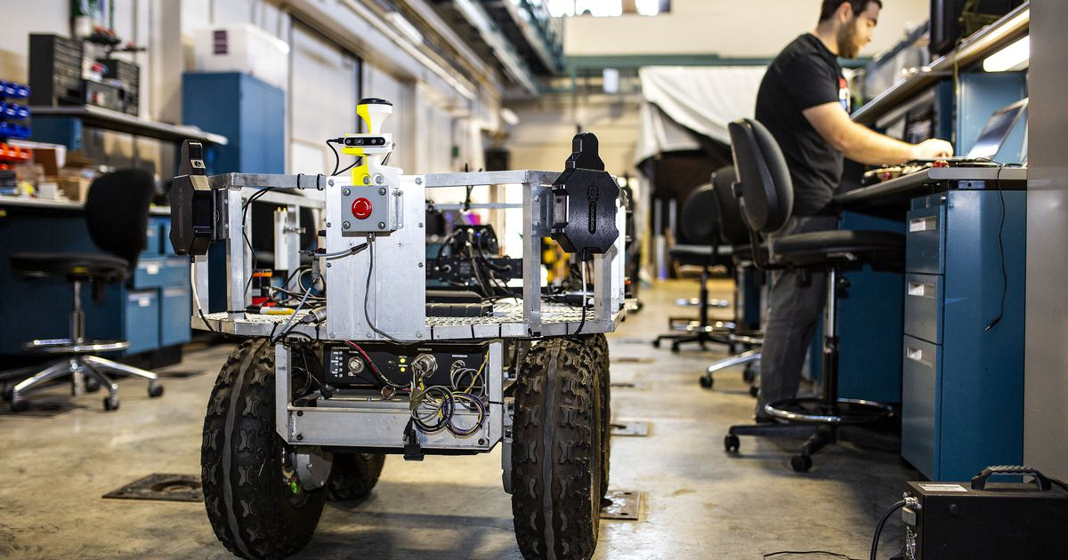 'More Wall-E than Terminator': Texas colleges tout robots, high-tech projects from Army partnership