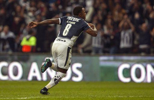 Dorlan Pabón anotó el gol de Rayados en la final de vuelta. Foto AP