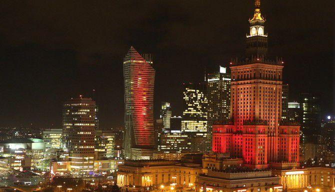 El palacio de la Cultura en Polonia /AP