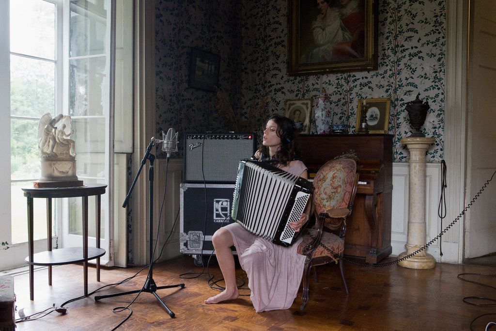 Ragnar Kjartansson's The Visitors, a nine-channel video projection, has earned critical acclaim.