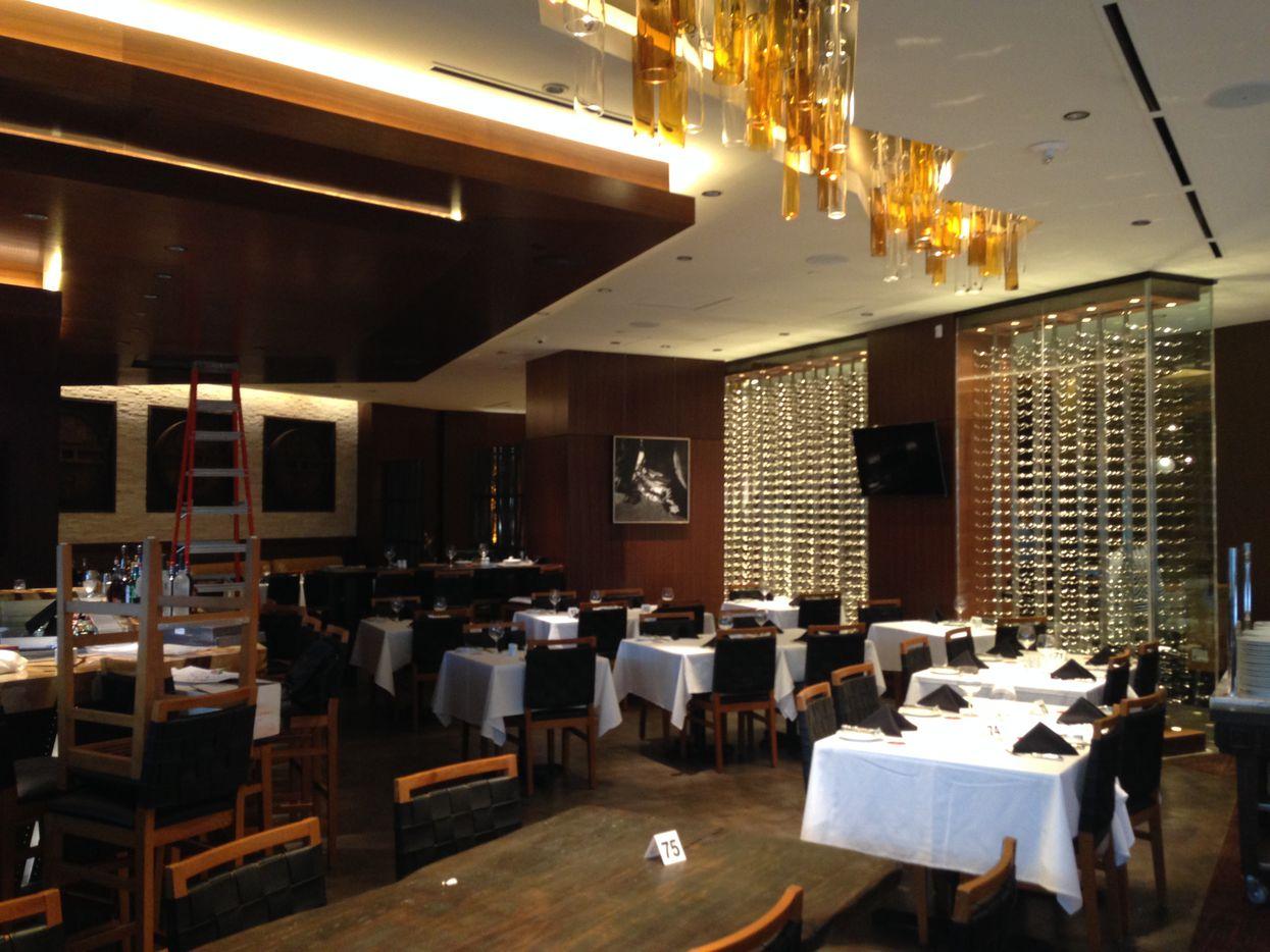 Fogo de Chão restaurant opens next week at the apartment building. (Steve Brown/Staff)