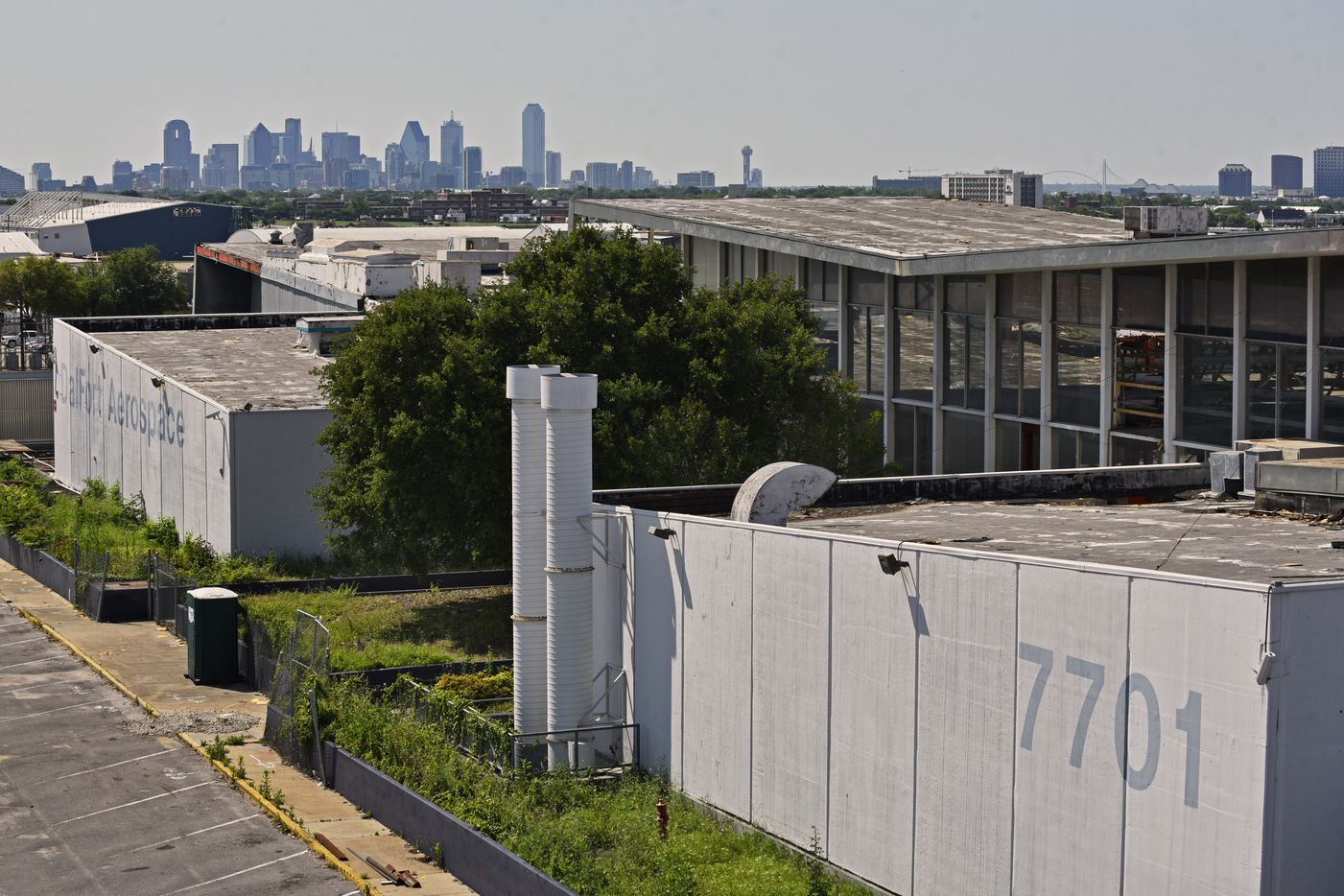 The 60-year-old Braniff Airways base at Dallas Love Field is being turned into a business center.