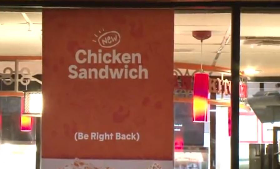 Some customers at a Houston Popeyes apparently weren't patient enough to wait for a chicken sandwich, as one of them pulled a gun when the group was told the restaurant was sold out of the popular item.