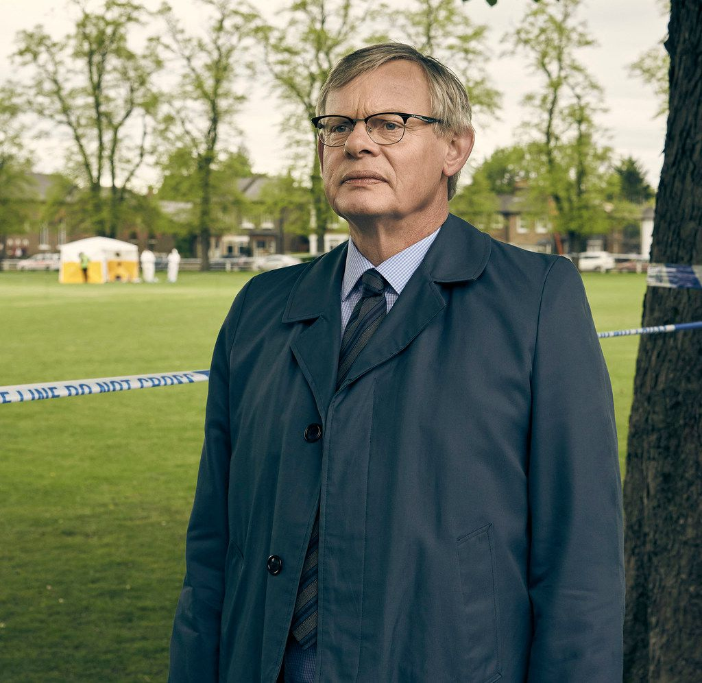 British actor Martin Clunes plays a relentless real-life detetcive in Manhunt, streaming on Acorn.TV and a variety of streaming devices beginning next Monday.