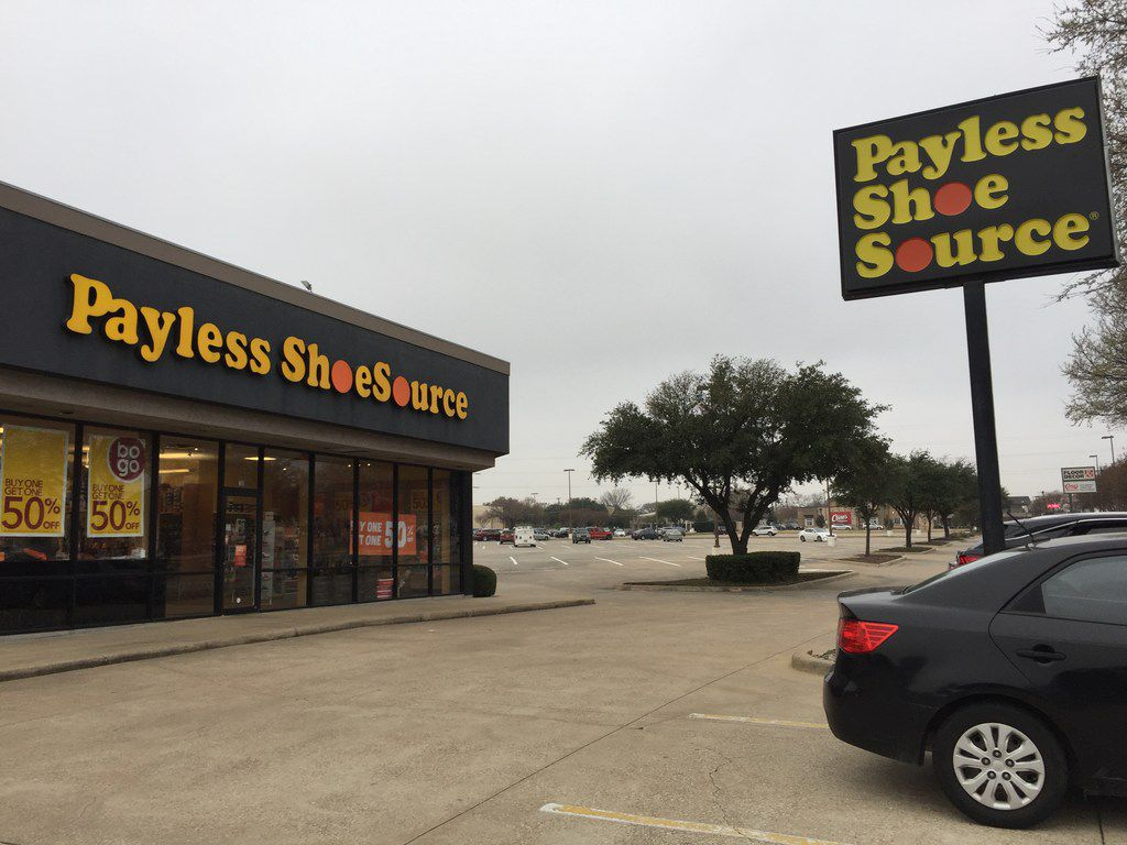 Payless Shoe Source store at 700 W 15th Street in Plano.