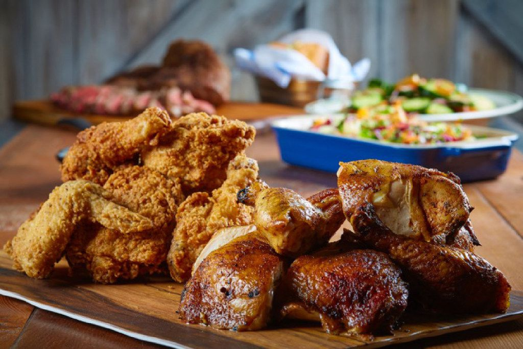 Prohibition Chicken is located at 201 W. Church St. in Lewisville. It specializes in chicken, mostly fried.
